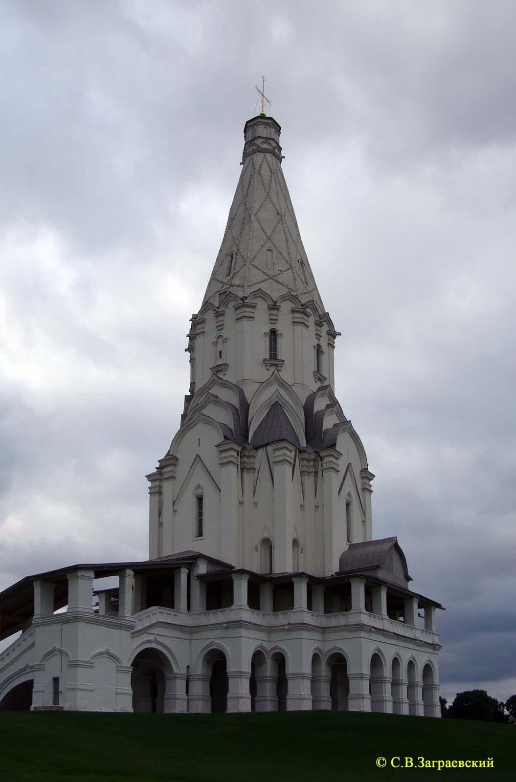 Церковь Вознесения в Коломенском - Интим досуг, секс услуги.