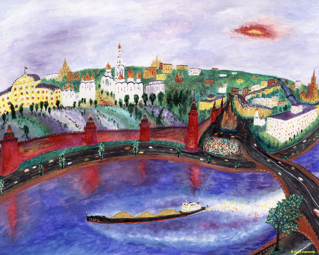 Мусоргский Рассвет на Москве реке Belcantoru
